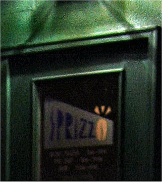 Sprizzo's in Waukesha... the back door... - photo by Mike Fisk - soul-amp.com