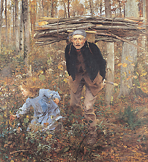 The Wood Gatherer, Jules Bastien-Lepage