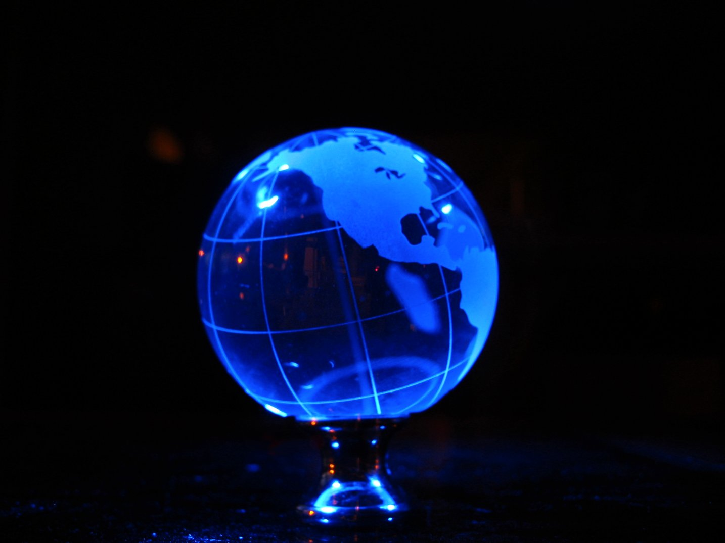 Soul Amp Strange Glass Earth Globe Led Photo Art Painting With Light Glass Globe W